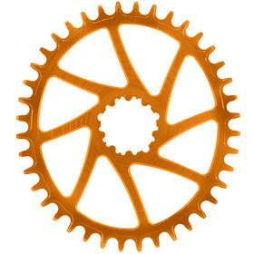 Garbaruk Corona Dentata ovale per SRAM GXP, arancione